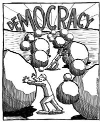 El uso arbitrario de la ley o el ataque de la democracia contra símisma