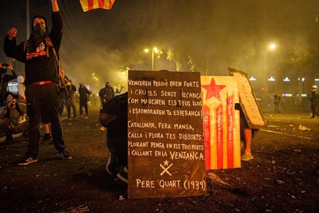 La revuelta de los jóvenes catalanes. Carta abierta a José RamónUbieto