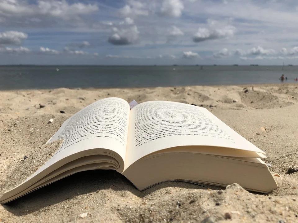 Una playa de poesía